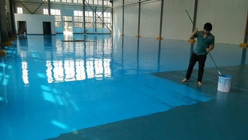 地坪漆涂料为什么要分三层施工呢?